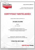 Certyfikat RzetelnoPci