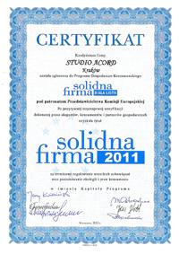 Solidna Fima 2011
